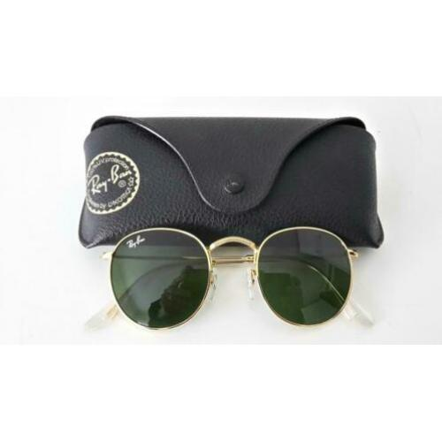 Ray ban zonnebril Round Metal, maat 50-21,made in Italy